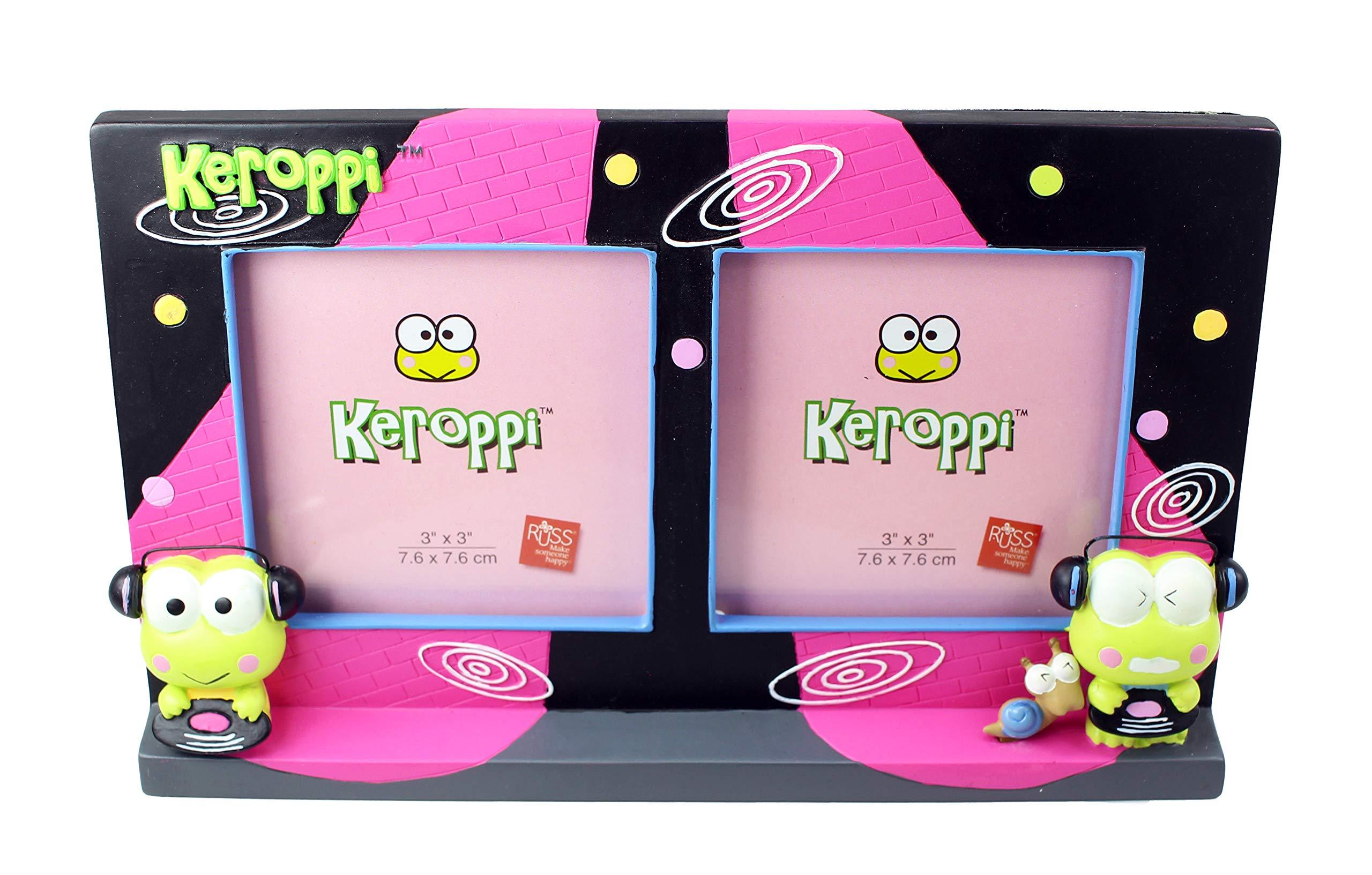 SANRIO Kero Kero Keroppi hair clip accessory relief item 2 pieces set