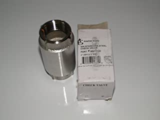 """AMERICAN GRANBY HARVARD 1.25"""" STAINLESS STEEL CHECK VALVE for WATER WELL PUMP Pressure TANK SSCV125"""