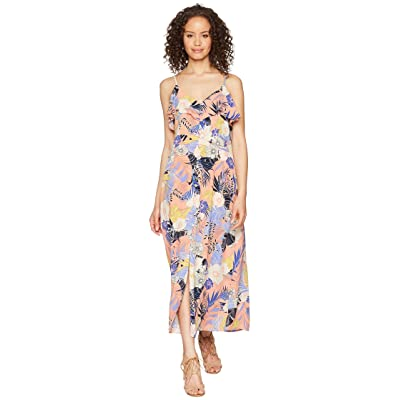 Sanctuary Isabella Button Down Maxi Dress (Papaya Love) Women