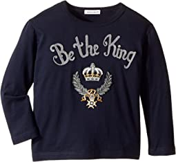Dolce & Gabbana Kids - Be The King T-Shirt (Toddler/Little Kids)