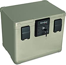 SureSeal by FireKing SS106 1/2 Hour Fireproof Waterproof Safe Chest,  Holds Hanging Files, 0.6 CU FT Storage Capacity (Renewed)