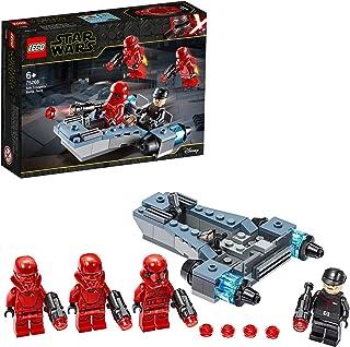 LEGO-Star Wars 75266 Sith Troopers Battle Pack Lekset med Battle Speeder The Rise of Skywalker Movie Collection, Flerfärgad
