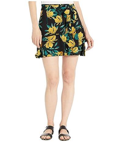 Roxy Mi Mascota Skirt (Anthracite Tropical Day) Women