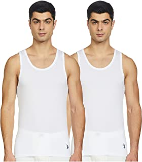 US Polo Assn. Men's Cotton Vest (Pack of 2)