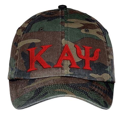 09bdff98956be Greekgear Kappa Alpha Psi Camouflage Style Baseball Cap – One Size Fits Most