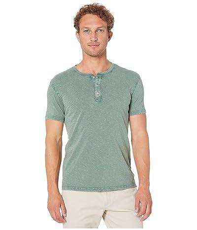 Lucky Brand Sugar Magic Henley Shirt (Silver Pine) Men