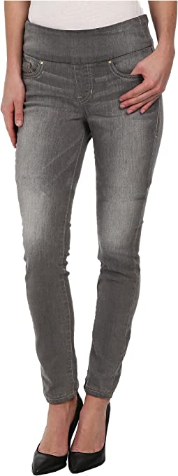 Nora Pull-On Skinny Knit Denim in Antique Tin