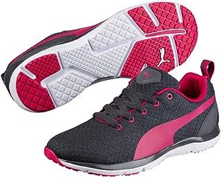 PUMA Women's Flex Xt WNS, Black- White-Love Potion, Running Shoes