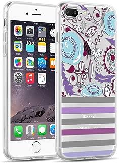 素描 iphone 7Plus Floral Stripe