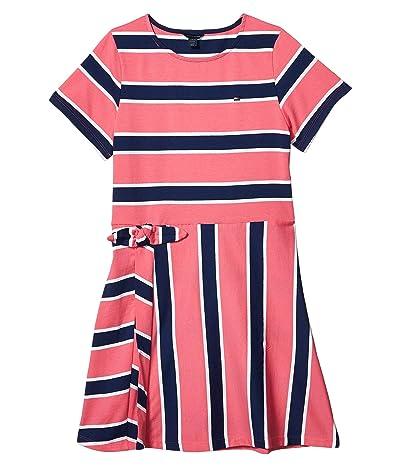 Tommy Hilfiger Kids Wrap Dress (Big Kids) (Surprise Pink) Girl