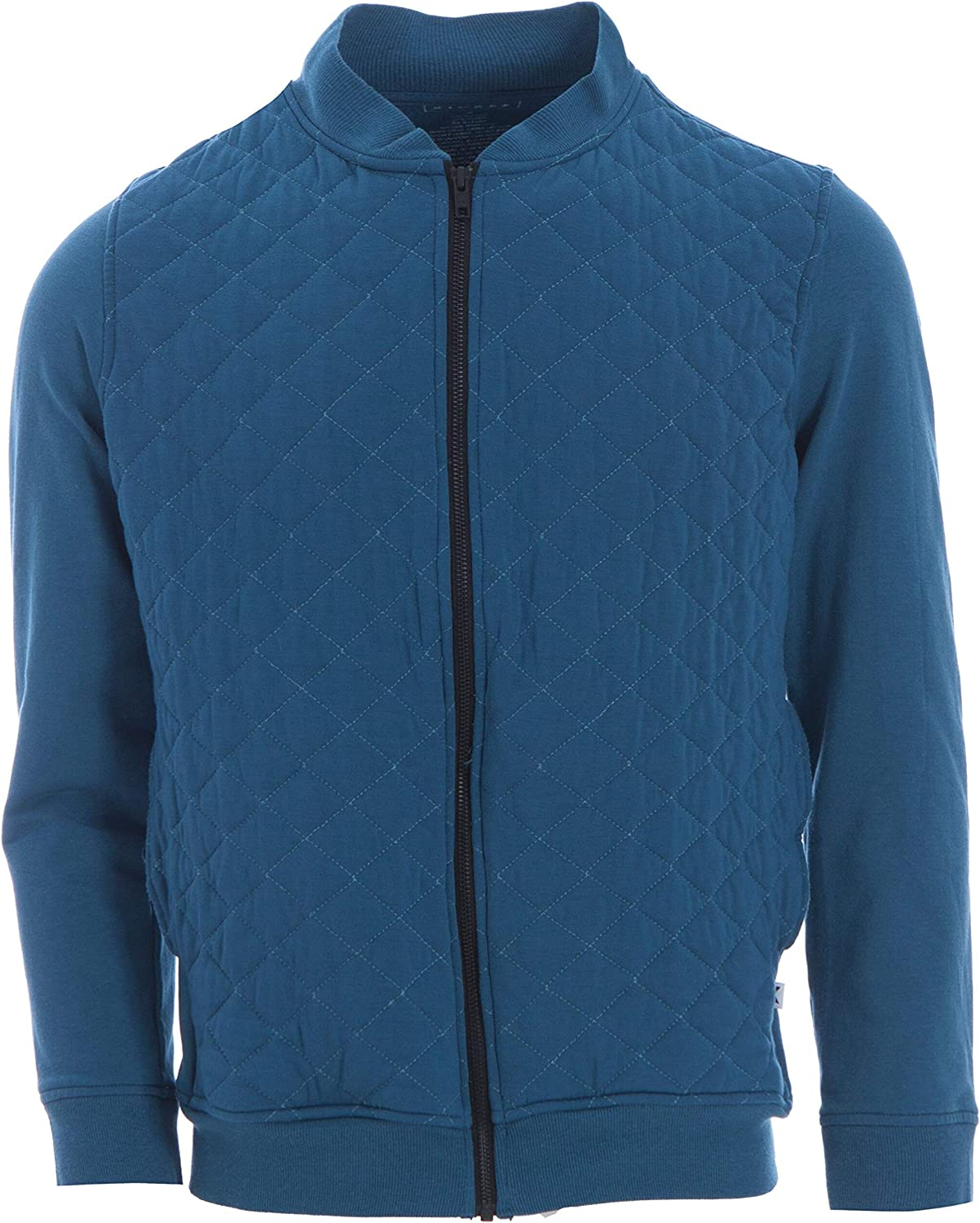 KicKee Menswear Solid Quilted Jacket   Oceanography Collection  