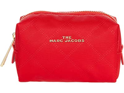 Marc Jacobs The Beauty Small Cosmetic (Raja Red) Bags