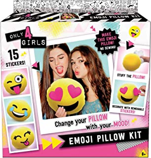 CANAL TOYS Only 4 Girls Emoji Pillow Kit