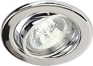 Heitronic 23242 Einbauleuchte, Métal, GU5.3, 50 W, Silber, 0.0 x 0.0 x 0.0 cm