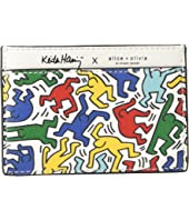 Alice + Olivia - Keith Haring X Alice + Olivia Elle Printed Card Case