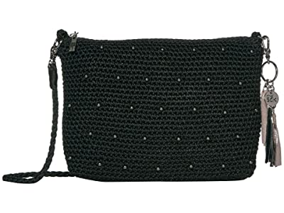 The Sak Casual Classics 3-in-1 Demi (Black Sparkle Beads) Handbags