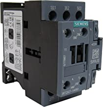 SIEMENS 3RT2027-1AK60 SIRIUS 3 POLE 32 AMP 120 VOLT AC CONTACTOR - 1NO+1NC AUXILIARY CONTACT