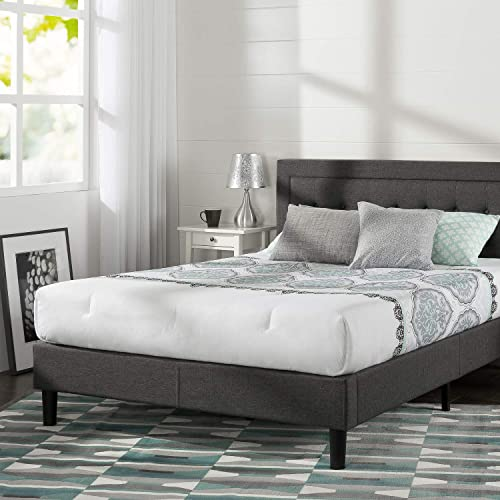 Zinus Dachelle Upholstered Platform Bed   Love this bed