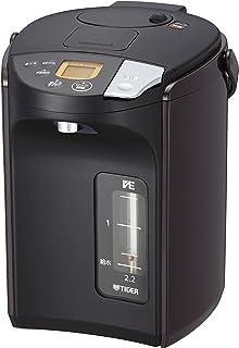 TIGER 虎牌 保温瓶 电热水壶 无蒸汽VE 电热水壶 2.2升 棕色 PIS-A220-T