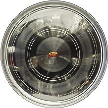 Raj Steel Plate - STT016,Grey