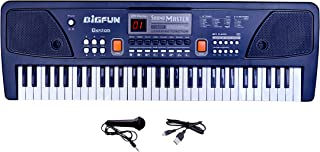 Beston® 61 Keys Bigfun Electronic Piano Keyboard with LED Display & Microphone