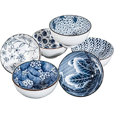 Blue and White Japanese Sunflower Plate