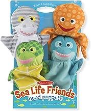 sea animal puppets
