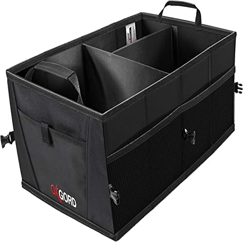 wholesale Trunk Organizer for new arrival Car Storage - Organizers Best for SUV Truck Van Auto Accessories Organization Caddy Bag - Front or Back-Seat Vehicle Sedan Interior Collapsible Bin Automotive popular Grocery Organize Box outlet online sale