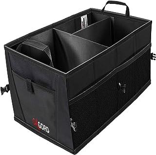 صندوق عقب صندوق برای ذخیره سازی خودرو - بهترین سازمان دهنده برای SUV Truck Van لوازم جانبی اتومبیل سازمانی صندوق عقب - صندلی جلو یا صندلی عقب صندوقدار سدان داخلی صندوق پستی قابل حمل اتومبیل جعبه