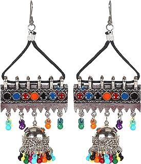 Frolics India Oxidized Silver Earrings for Women & Girls