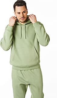 Ript Essentials by Ript Performance RCSWT763 Mens Hooded Soft Touch Lougewear Sweatshirt Hoody