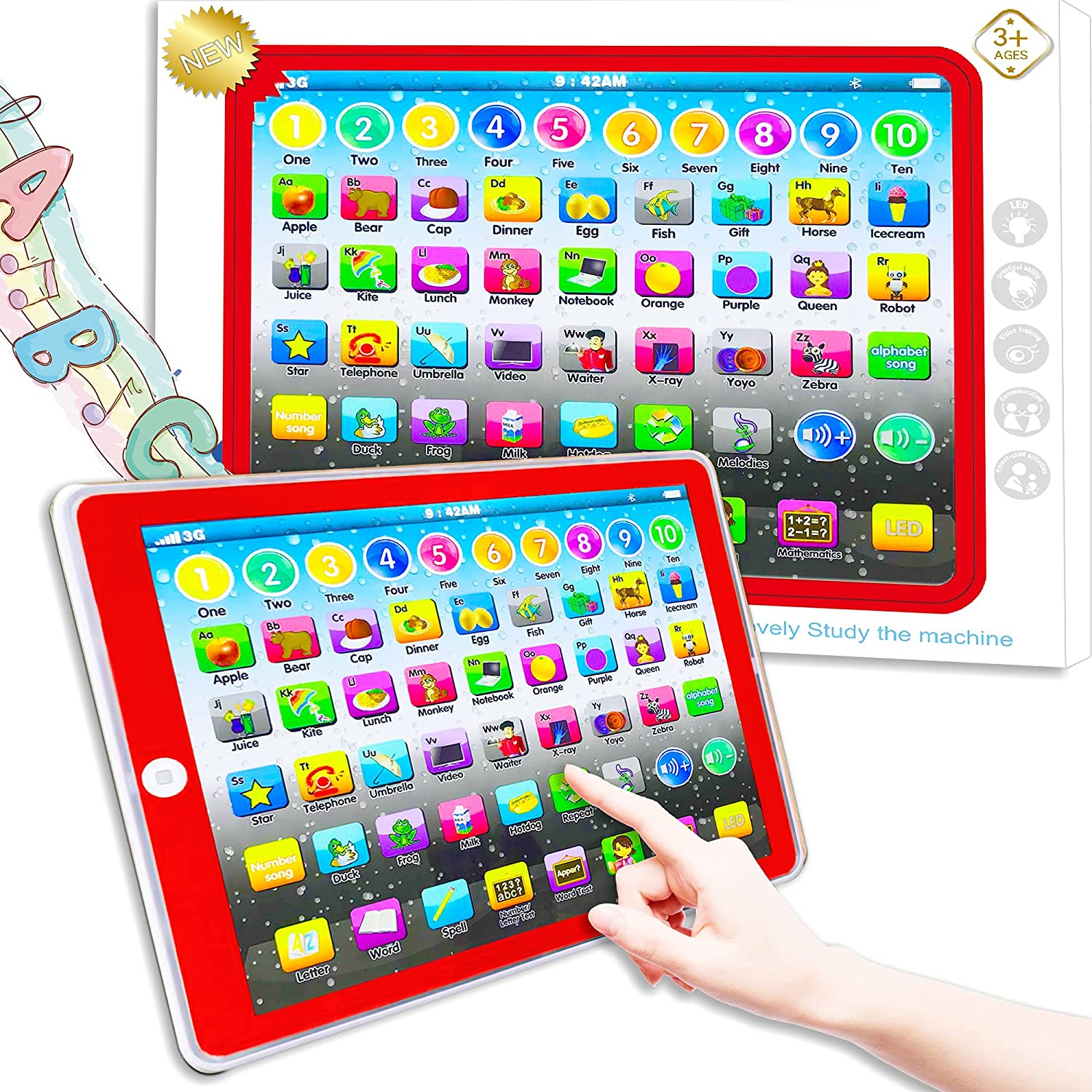 Learning Tablet Toy Max 52% Ranking TOP2 OFF Baby Education Child Early Preschool