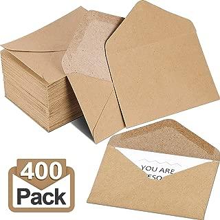 kraft card envelopes