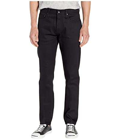 The Unbranded Brand Tapered in 11 oz Solid Black Stretch Selvedge (11 oz Black Stretch Selvedge) Men