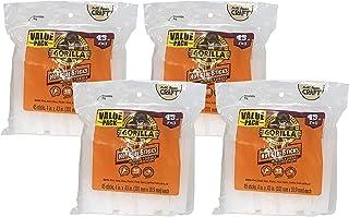 Gorilla 105983 4 Inch Full Size Hot Glue Sticks, 4 Pack, Clear, 4 Pack