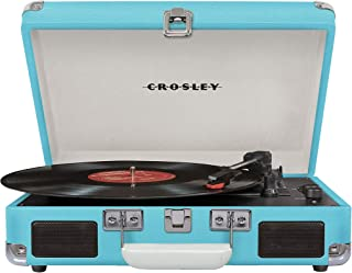 Crosley Cruiser Deluxe Vintage 3-Speed Bluetooth Suitcase