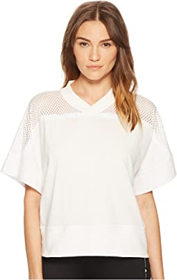adidas by Stella McCartney - Training Cotton Mesh Tee CV9635