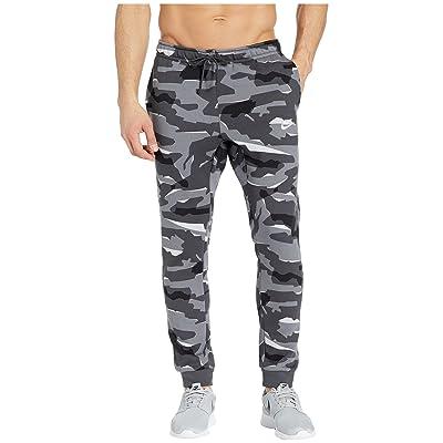 Nike Big Tall NSW Club Camo Jogger (Cool Grey/Anthracite/White) Men