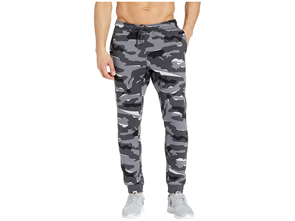 Nike Big Tall NSW Club Camo Jogger (Cool Grey/Anthracite/White) Men