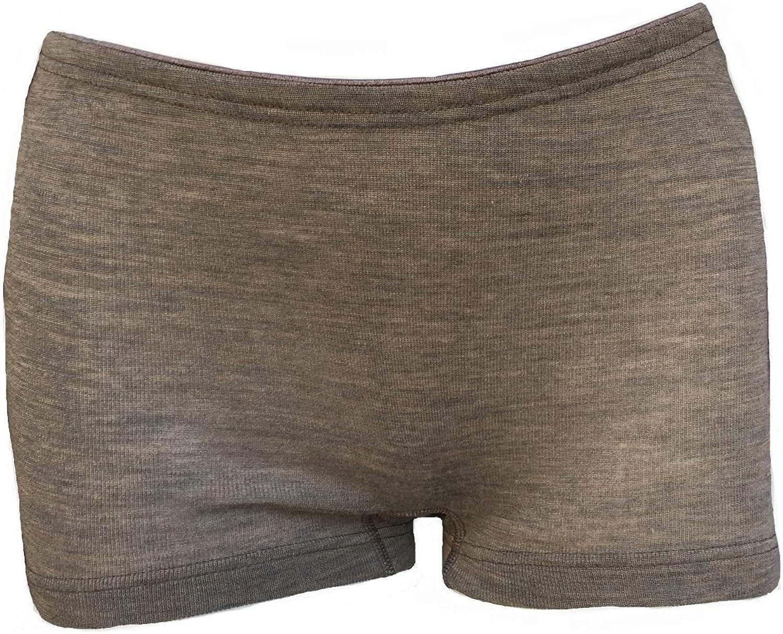 Engel 70% Organic Merino Wool 30% Silk Women's Panties Boxers. Made in Germany.