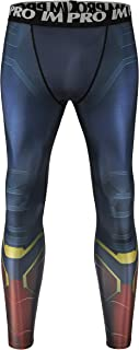 NEPIA GYM Super-Hero Sports Compression Pants Tights Baselayer Workout Running Cool Dry Leggings