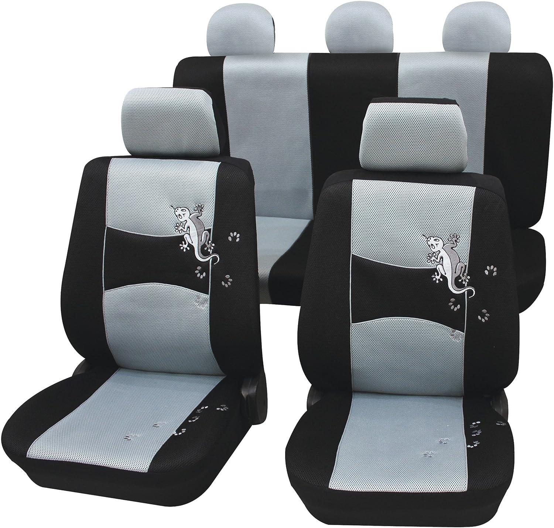 ZentimeX Z925331 Sitzbez/üge Vordersitze Stoff Airbag-Kompatibel