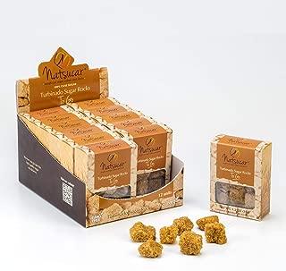 The Sugar Lab Turbinado Sugar Cubes - 1.2oz. To Go Packs - 12 Pack - Natural Kosher Vegan & Non-GMO Brown Sugar Cubes - Great Cane Brown Sugar for Tea and Coffee Sugar - Use Sugar Cubes for Cocktails