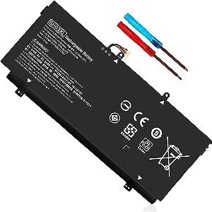 SH03XL Laptop Battery Replacement for HP Spectre X360 13-AC0XX 859356-855 SHO3XL 13-W0XX 13-AC033DX 13-AC013DX 13-AC023DX 13-W013DX 13-W023DX CN03XL 13-AB0XX 13-AC063DX 859026-421 HSTNN-LB7L TPN-Q178