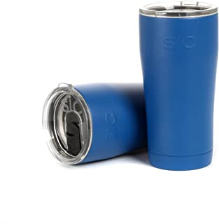Seriously Ice Cold Insulated Tumbler, Deep Blue, 20oz.