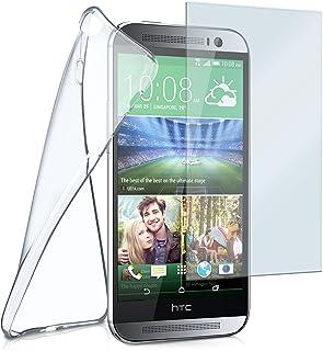 Aero y Cristal para HTC One M8/M8S Transparente Crystal-Clear HTC One M8 / M8S