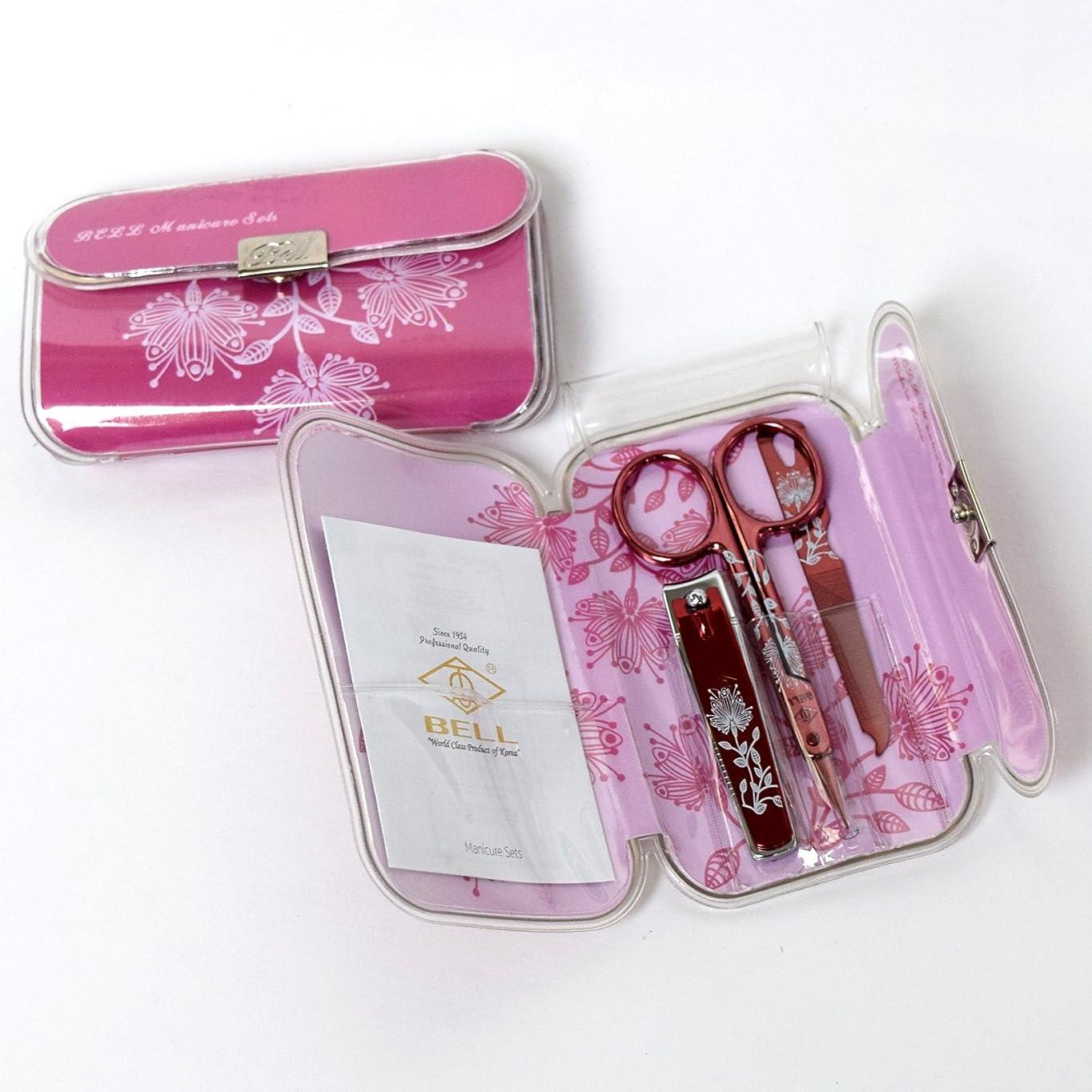 ラメトラブル騒BELL Manicure Sets BM-330D ポータブル爪の管理セット 爪切りセット 高品質のネイルケアセット高級感のある東洋画のデザイン Portable Nail Clippers Nail Care Set