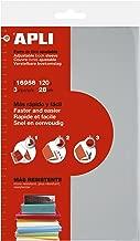 APLI 16956 - Forro de libros con solapa ajustable PVC 280 mm 3 u.