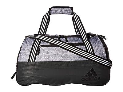 adidas Squad IV Duffel (Legend Earth Green/Grey Jersey/Black/White) Duffel Bags