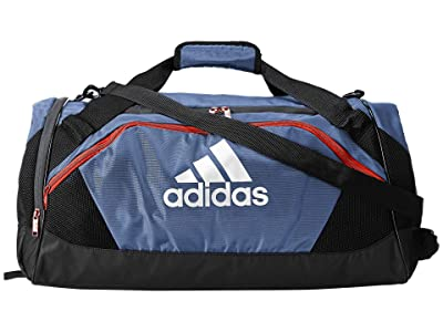 adidas Team Issue II Medium Duffel (Tech Ink Grey/Black/Active Orange) Duffel Bags